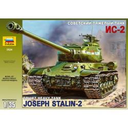 Zvezda 3524 Joseph Stalin-2 Soviet heavy tank