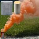 Świeca dymna duża AX-60 pomarańczowa