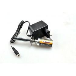 Klips krótki z akumulatorkiem Ni-MH 1800mAh i ładowarką