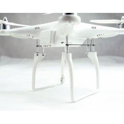 DJI Phantom - wydłużenie podwozia o 40mm - umożliwia montaż gimbala do kamery