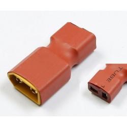 Wtyki XT60 (męskie)- DEAN T (żeńskie) - krótkie - do akumulatorów