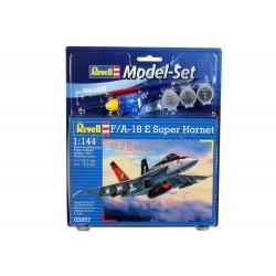 F/A-18E Super Hornet - Revell - 63997 - Zestaw z klejem i farbami