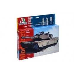 Italeri - 77001 - M1 Abrams - Skala 1:72 - Model Set