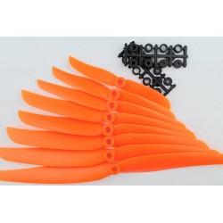 Śmigło 9x5 - orange - śmigło 9050 z wkładką redukcyjną
