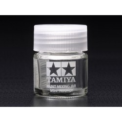 Tamiya 81044 Tamiya Paint Mixing Jar Mini 10 ml (Round)