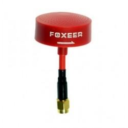 Antena Foxeer 5.8GHz RHCP - SMA czerwona krótka - koniczynka