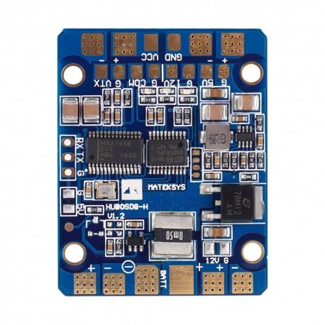 Płytka zasilająca PDB z OSD - HUBOSD8-H - OSD - 2xBEC 12V i 5V - LC Filter