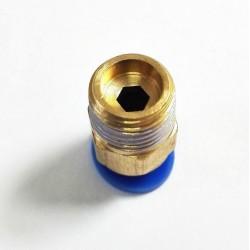 Bowden złącze - końcówka PC4-M10 - bowden 4mm - gwint M10