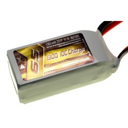 Li-Po 1300mAh 11.1V 65/130C SLS Quantum