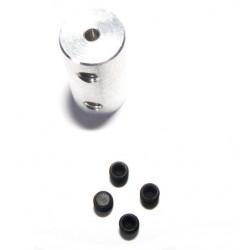 Łącznik sztywny 3.2mm - 3mm długość 18mm