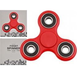 FIDGET SPINNER - Oryginał - kręci się 120 sekund - czerwony