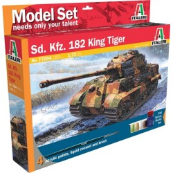 Italeri - 77004 - Sd. Kfz.182 King Tiger - Model Set