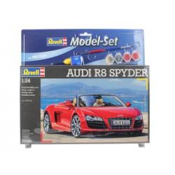 Audi R8 Spyder - Revell - 67094 - Zestaw z klejem i farbami