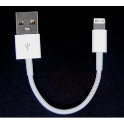 Kabel ładowania - USB - lightning - iPhone / iPad - 12cm