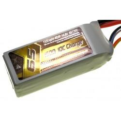 Li-Po 1500mAh 14.8V 65/130C SLS Quantum