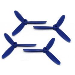 Śmigła DAL Bullnose T4045BN - blue - Tri-blade - 4x4,5x3 - 2xCW/2xCCW - DALPROP 4 szt
