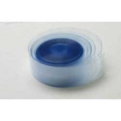 Rurka koszulka termokurczliwa PVC Ø24mm - bezbarwna 1mb - szerokość 37mm