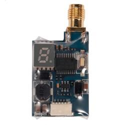 Nadajnik FPV Mini TS5823LS 5,8GHz 25-200mW - 48CH - regulacja mocy