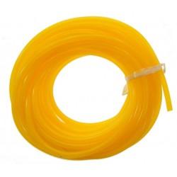 Przewód paliwowy 2.5mm / 5.3mm - 0,5m - żółty