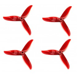 Śmigła DAL CYCLONE T5045C High-end - red - Tri-blade - 5x4,5x3 - 2xCW/2xCCW - DAL-PROP