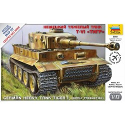 Zvezda 5002 German Heavy Tank Tiger I