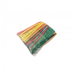 Zestaw 120 szt rurek termokurczliwych - kolor - 1,5 do 2,5mm - rurka termokurczliwa