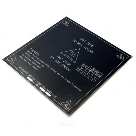 Aluminiowy Heatbed MK3 - grzałka stołu do drukarek RepRap 3D