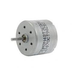 Mini silnik szczotkowy - 6V - oś 10mm - 24x18mm - Typ MT76