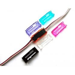Blokada - Safety Lock/Clip - zabezpieczenie wtyków serw przed rozpięciem