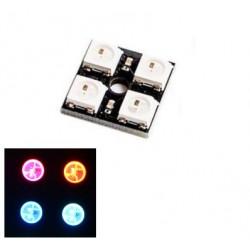 Oświetlenie LED 5050 WS2812 - 4 Bits full kolor RGB - CJMCU2814
