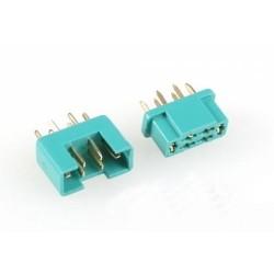 Wtyki MPX - Złącze Konektor - para komplet