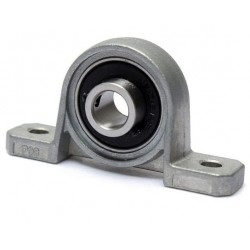 Łożysko samonastawne w aluminiowej obudowie - KP08 - 8mm - miniaturowa podpora wałka
