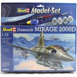 Dassault Mirage 2000D - REVELL - 64893 - Zestaw z klejem i farbami
