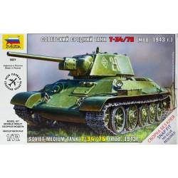 Zvezda 5001 Soviet medium tank T34/76 m.1943