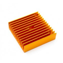 Radiator ekstrudera 40x40x11 - MK7 / MK8 - orange