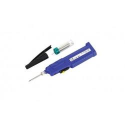 Lutownica na baterie 3xAA - ZD20D - do drobnych prac + cyna - lutownica przenośna