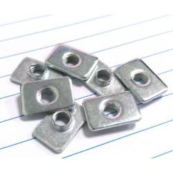 Nakrętka płytkowa T M5 do profili aluminiowych 2020 - TSLOT, T-NUT, TNUT