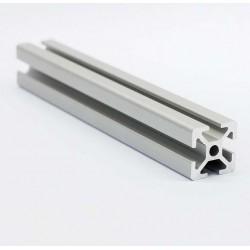 Profil aluminiowy T6 2020 T6 250mm - anodowany - do drukarek 3D, stelaży, maszyn przemysłowych