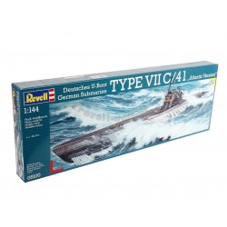 German Submarine TYPE VII C/41e Atlantic Version 1:144 - REVELL - 05100