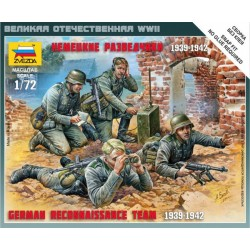Zvezda 6153 German Reconnaissance Team 1939-1942 (Art of Tactic)