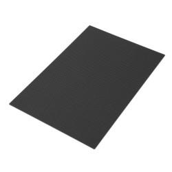 Płyta Carbon 3mm 200x300mm - tkanina węglowa 3K - splot TWILL
