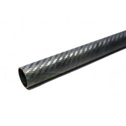 Rurka Carbon 16/14 mm - tkanina węglowa 3K
