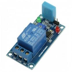 Czujnik wilgotności HR202 z przekaźnikiem 10A/250V AC