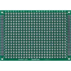 Płytka uniwersalna 50x70mm - PI24Z - dwustronna - PCB budowa prototypów