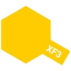 Tamiya XF-3 Flat Yellow Matt 10ml - 81703