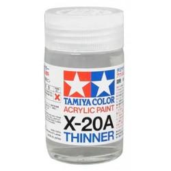 Tamiya 81030 X-20A Acrylic Thinner / Rozcieńczalnik do farb akrylowych