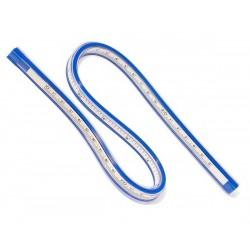 Linijka elastyczna do krzywizn - 30cm - utrzymuje kształt