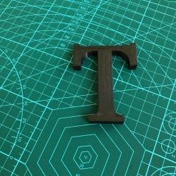 Litery przestrzenne - wewnętrzne oraz zewnętrzne - Druk 3D