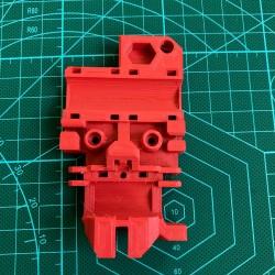 Karetka - mocowanie głowicy - Prusa I3 MK2