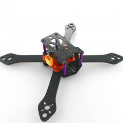 Rama Carbon Reptile Martian III 220 - Racing Drone - ramiona 4mm
